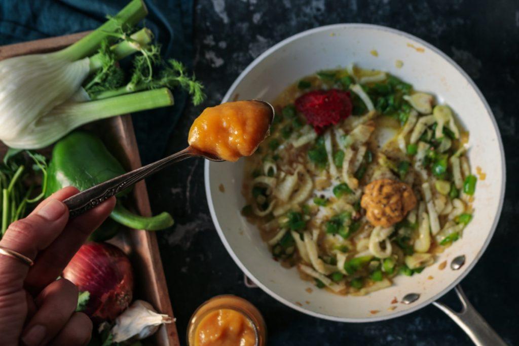 Εύκολες συνταγές με γαρίδες, μουστάρδα και μαραθόριζα