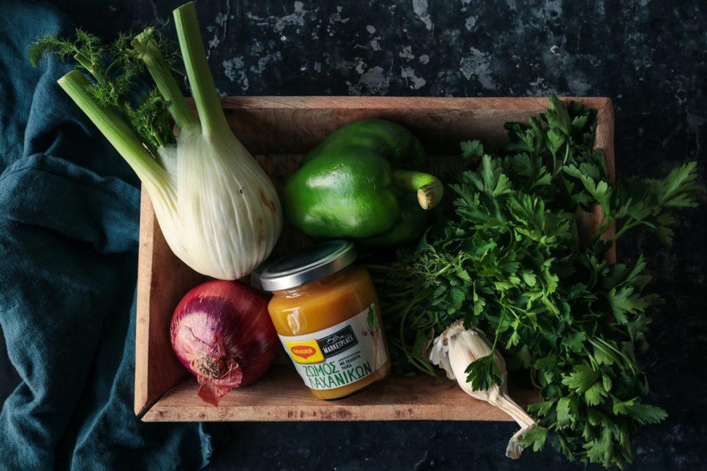 Ζωμός λαχανικών Συνταγή