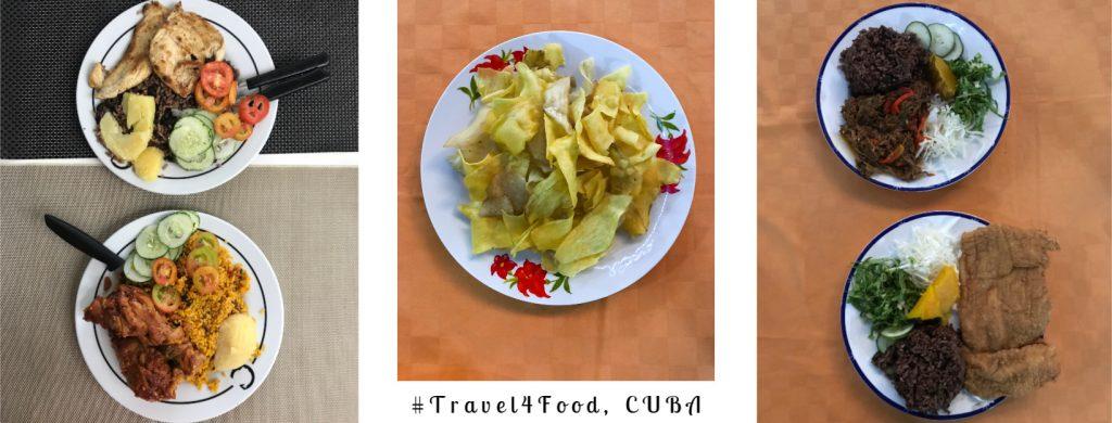 Ταξίδι στην Κούβα Φαγητό