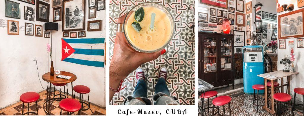 Cafe-Museo CUBA, οδηγός γευστικής επιβιώσης