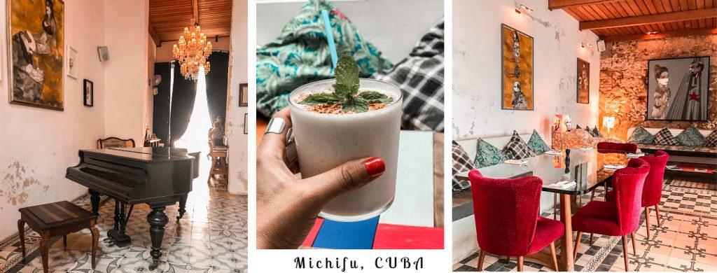 Michifu, γαστρονομία Κούβα