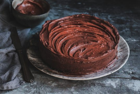 Κέικ με σοκολάτα, μαύρη μπίρα και espresso