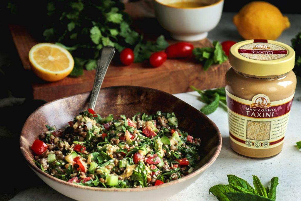 Συνταγές για σαλάτα φακές