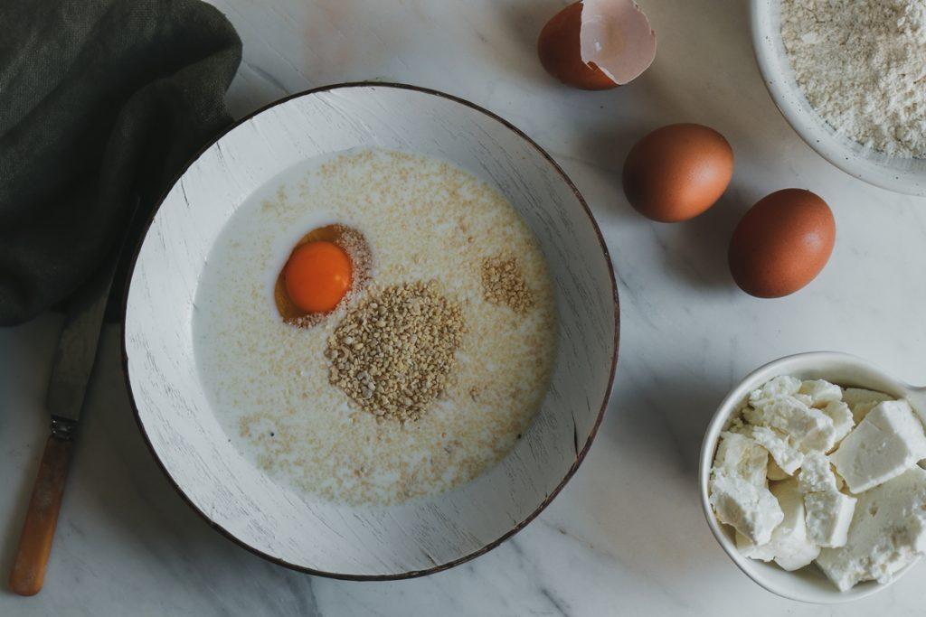 Συνταγές με αυγά, τραχανά, φέτα