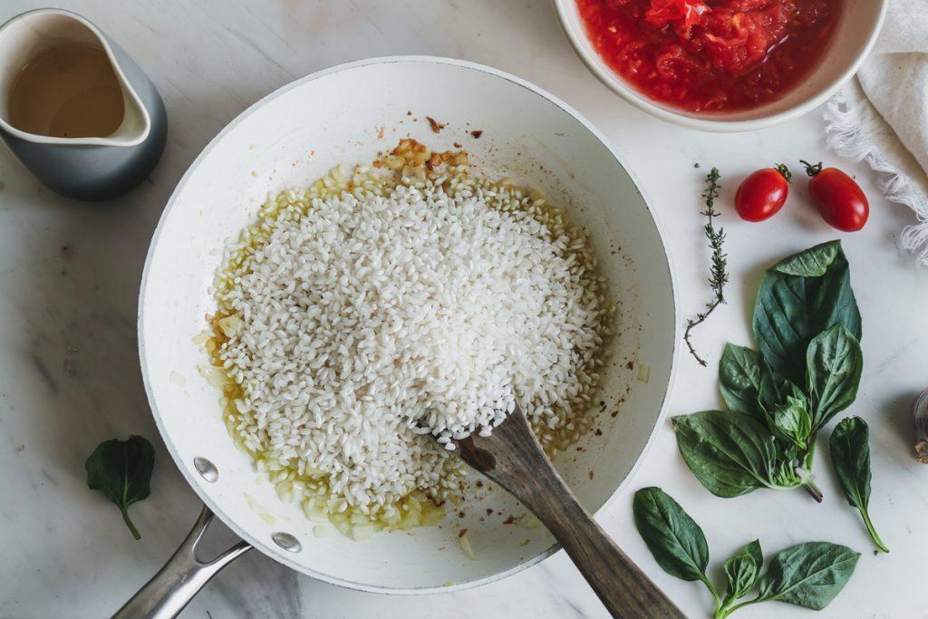 Συνταγή για εύκολο ριζότο