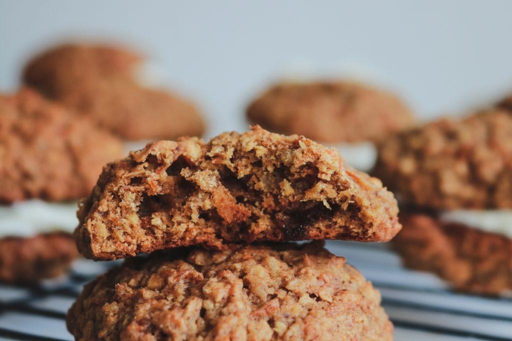 Cookies με καρότα