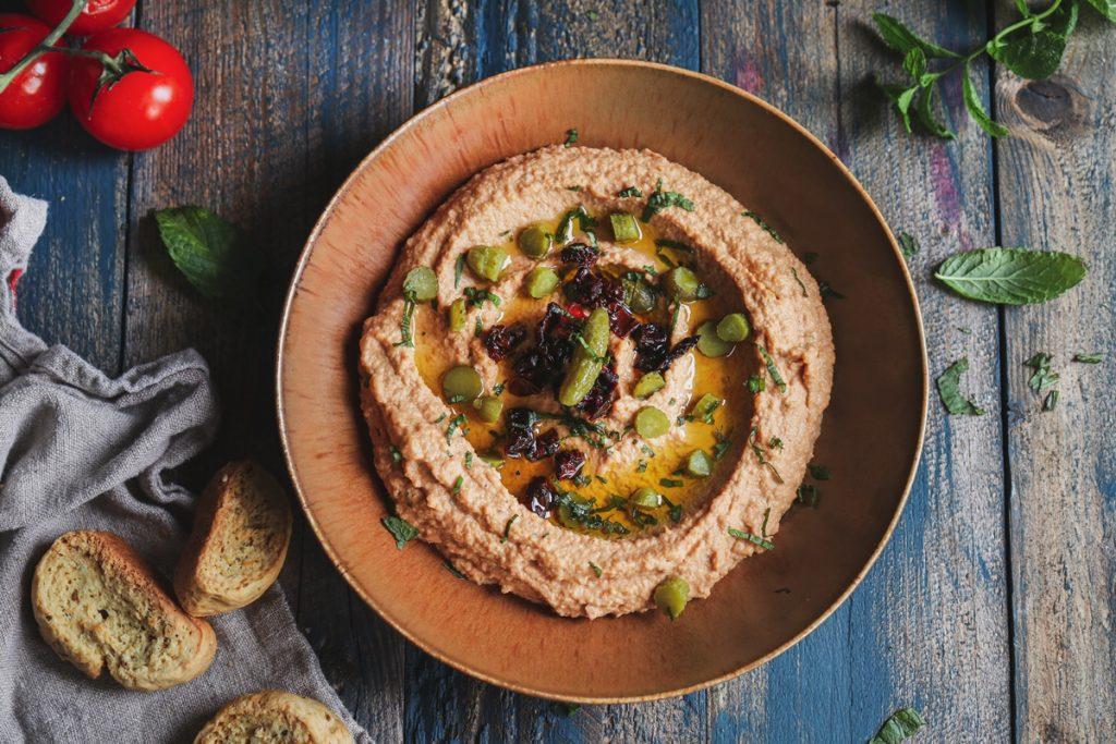 Συνταγές-για-χούμους-Hummus-Recipe