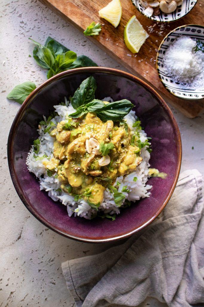 Εύκολες συνταγές για κοτόπουλο, ρύζι, γιαούρτι, korma, κόρμα