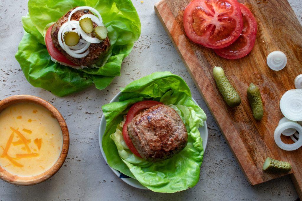 Σπιτικά burger συνταγές