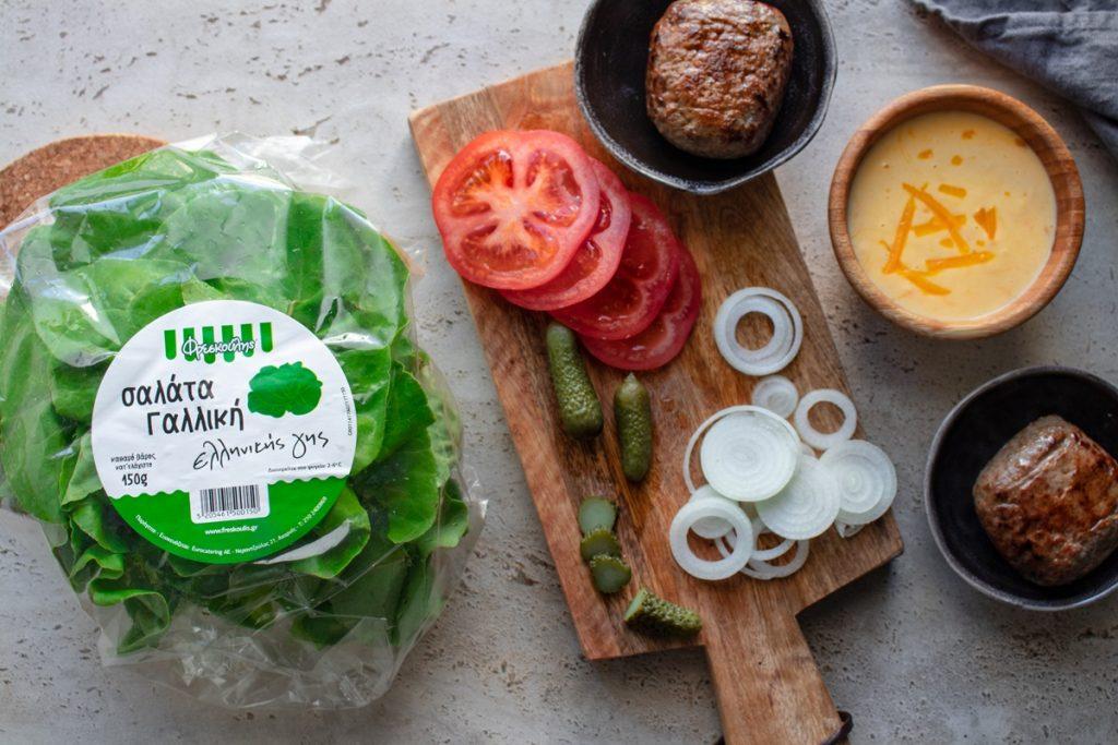 Συνταγές για Γαλλική σαλάτα ελληνικής γης