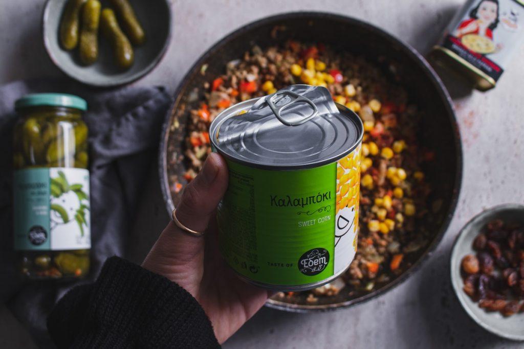 Συνταγές με καλαμπόκι και αγγουράκι τουρσί