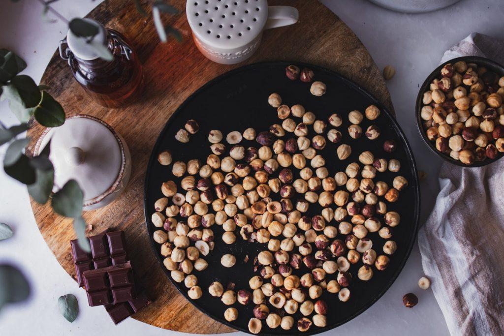 Φουντούκια συνταγές με σοκολάτα_σπιτική μερέντα