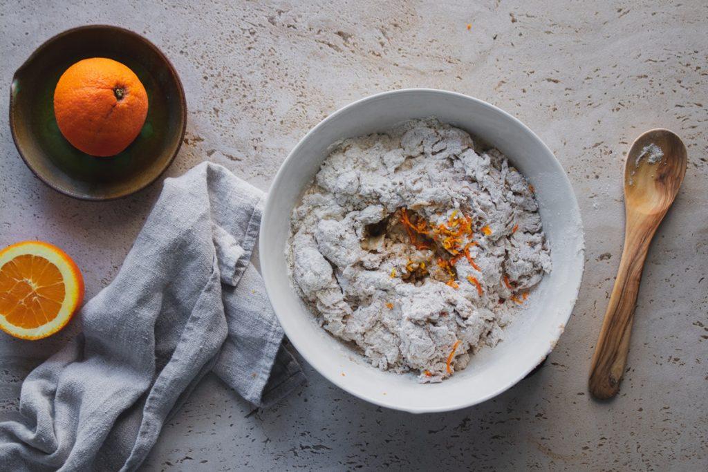 Συνταγές για τραγανές λαγάνες με πορτοκάλι