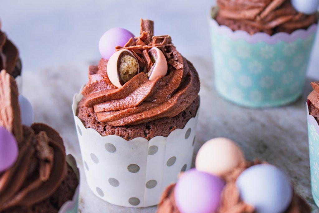 Πασχαλινή διακόσμηση cupcakes_Συνταγές για παιδιά
