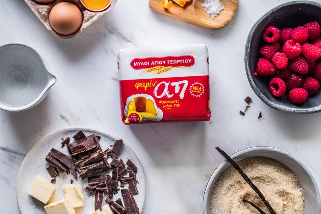 Συνταγές για κέικ σοκολάτα με βατόμουρα
