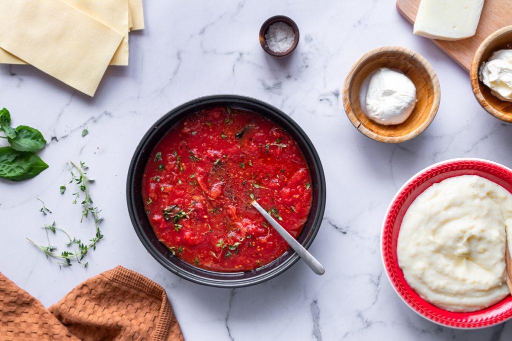 Συνταγές για σάλτσα ψητής ντομάτας