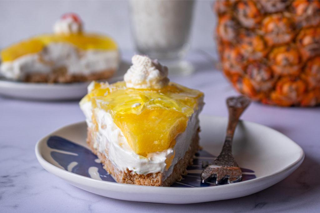Συνταγές για cheesecake ψυγείου pina colada