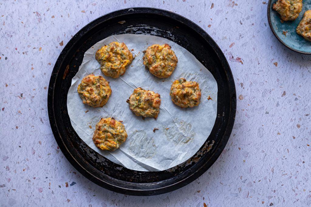 Συνταγές για Κολοκυθοκεφτέδες στο φούρνο