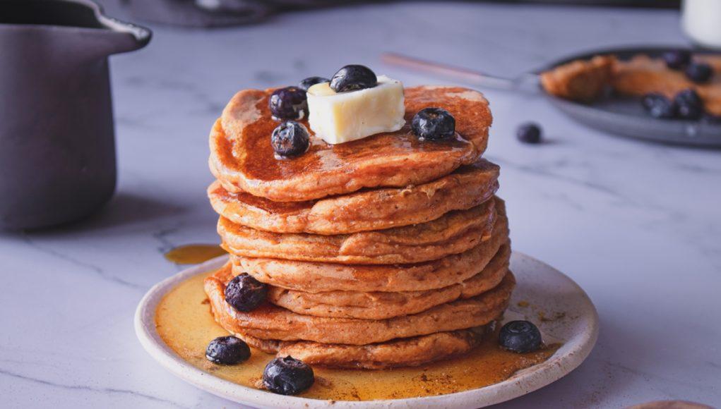 Pancakes με γλυκοπατάτα_Sweet Potato Pancakes